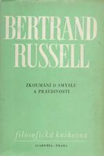 Russell: Zkoumání o smyslu a pravdivosti, 1975