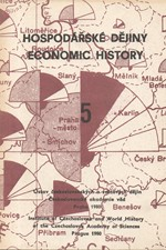 : Hospodářské dějiny. 5, Příspěvky k dějinám hutnictví železa v Českých zemích, 1980