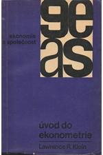 Klein: Úvod do ekonometrie, 1966