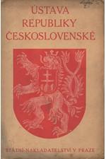 : Ústava republiky Československé, 1923