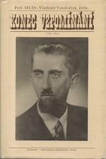 Vondráček: Konec vzpomínání : 1938-1945, 1988