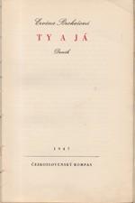 Brokešová: Ty a já : Deník, 1947