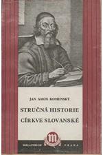 Komenský: Stručná historie církve slovanské, 1941