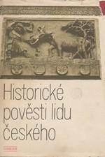Sedláček: Historické pověsti lidu českého, 1972