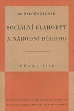 Stádník: Sociální blahobyt a národní důchod, 1946
