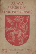 : Ústava republiky Československé, 1920