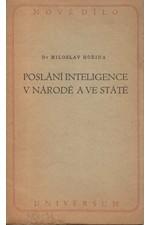 Hořina: Poslání inteligence v národě a ve státě, 1947
