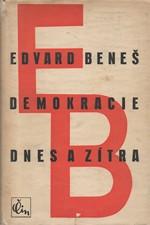 Beneš: Demokracie dnes a zítra, 1946