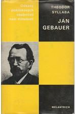 Syllaba: Jan Gebauer : monografie s ukázkami z díla, 1986
