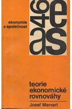 Mervart: Teorie ekonomické rovnováhy, 1971
