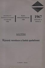 Křížek: Říjnová revoluce a česká společnost, 1967