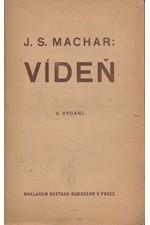 Machar: Vídeň, 1922