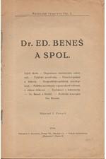 Svozil: Dr. Ed. Beneš a spol., 1926