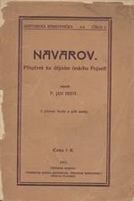 Hrdý: Navarov : Příspěvek ku dějinám českého Pojizeří, 1912
