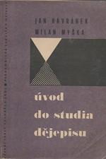Havránek: Úvod do studia dějepisu, 1966