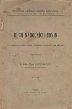 Havlíček Borovský: Duch Národních novin, 1906