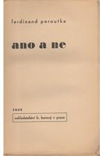 Peroutka: Ano a ne, 1932