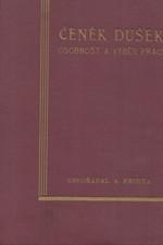 Frinta: Čeněk Dušek : Osobnost a výběr z jeho prací, 1933