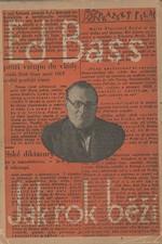 Bass: Jak rok běží, 1930