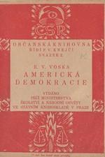 Voska: Americká demokracie, 1919