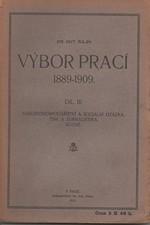 Hajn: Výbor prací 1889-1909. III, Národohospodářství a sociální otázka. Tisk a žurnalistika. Různé, 1913