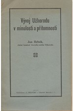 Hrbek: Vývoj Užhorodu v minulosti a přítomnosti, 1927