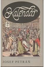 Petráň: Kalendář : Velký stavovský ples v Nosticově Národním divadle v Praze dne 12. září 1791, 1988