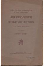 Dembołęcki: Kněze Vojtěcha Dembołęckého z řádu Františkánů Paměti o výpravách Lisovčíků proti odbojným Čechům a jejich spojencům v letech 1619-1622, 1908