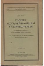 Filip: Počátky slovanského osídlení v Československu, 1946