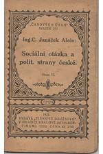Janáček: Sociální otázka a politické strany české, 1922