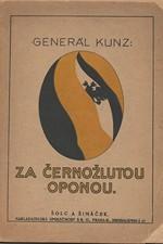Kunz: Za černožlutou oponou, 1921