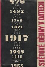 : Světové dějiny v datech. I, 1964