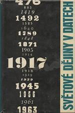: Světové dějiny v datech. II, 1964