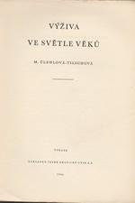 Úlehlová-Tilschová: Výživa ve světle věků, 1944