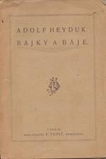 Heyduk: Bajky a báje, 1922