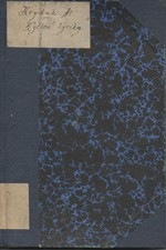 Heyduk: Kytice lyriky, 1915