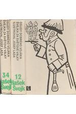 Hašek: Osudy dobrého vojáka Švejka za světové války. 1-4, 1980