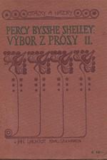 Shelley: Výbor z prósy. I-II, 1920