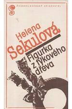Sekulowa: Figurka z týkového dřeva, 1981