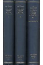 Beneš: Světová válka a naše revoluce : Vzpomínky a úvahy z bojů za svobodu národa, díl  1.-3., 1927