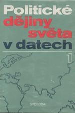 : Politické dějiny světa v datech I,II, 1980