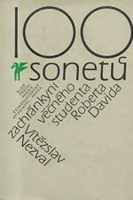Nezval: 100 sonetů zachránkyni věčného studenta Roberta Davida, 1979