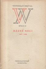 Nezval: Básně noci : 1921-1929, 1952