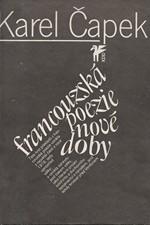 Čapek: Francouzská poezie nové doby (překlady), 1981