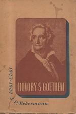 Eckermann: Hovory s Goethem, 1941