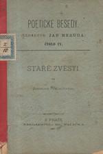 Vrchlický: Staré zvěsti : Básně : 1878-1882, 1883