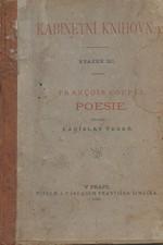 Coppée: Poesie : Venku a vnitř & Červený sešit, 1886
