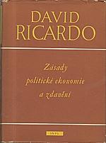 Ricardo: Zásady politické ekonomie a zdanění, 1956