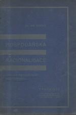 Stocký: Hospodářská racionalisace, 1930