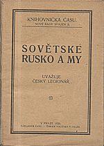 : Sovětské Rusko a my, 1921